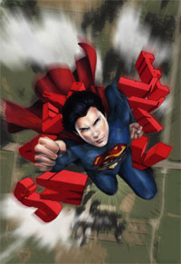 Smallville Season 11 digital cover by Cat Staggs