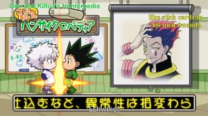 Gon and Killua do their own schwing